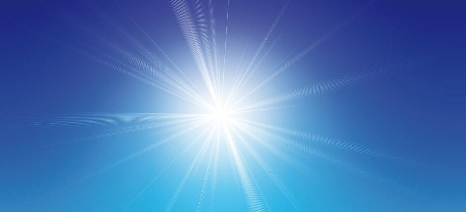 Sonne-Frühlingsanfang
