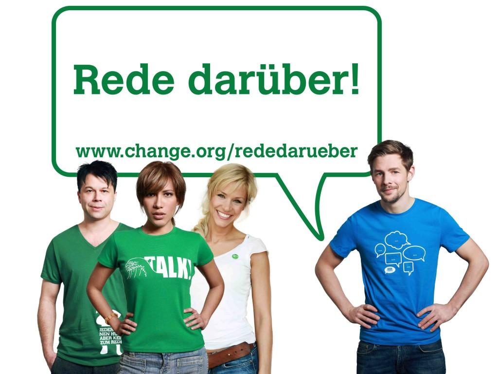 """Petition """"Rede Darüber"""" 2013"""